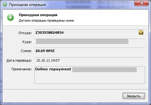 Igrun - скриншот выплаты